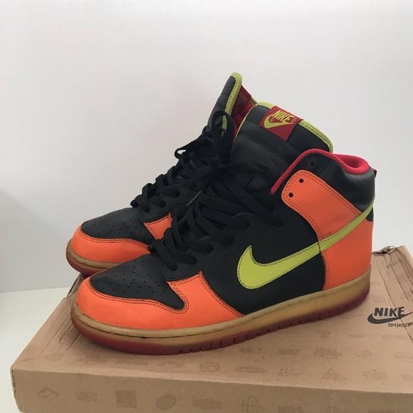 size 40 24fc7 56f3f Nike dunk high Halloween 309432-032